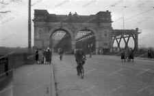 Brücke Ludwigshafen/mannheim-Wehrmacht-Fahrrad-strassenbahn/Tram Brücke-1
