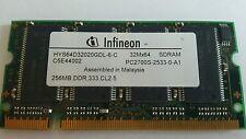 Infineon 256MB DDR 333 CL2 5 HYS64D32020GDL-6-C