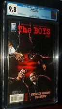 THE BOYS #1 2006 DC/Wildstorm Comics CGC 9.8 NM/MT White Pages