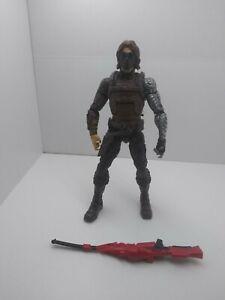 Marvel Legends Winter Soldier Bucky Hasbro Captain America Mandroid BAF