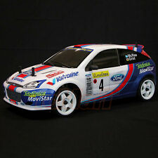 RALLY LEGENDS Ford Focus Car Body For 1:10 RC Cars Drift Touring #EZRL2438