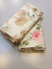 Ralph Lauren Woodstock Garden Floral King Pillowcases Pair
