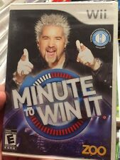 Nintendo Wii  Minute to Win It - BRAND NEW FACTORY SEALED BOX