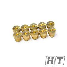 Hauptdüsen Set 10 Stk. 70 94 m6 für 12 17,5mm 22mm Dell Orto Vergaser