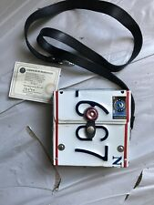 Recycled Auto License Plate Purse New York State Novelty Retro