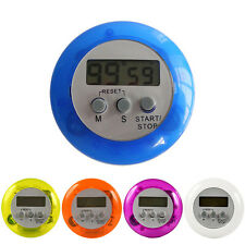 New LCD Digital Magnetic Cooking Kitchen Timer Count-Down Up Clock Loud Alarm