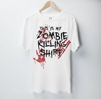 This Is My Zombie Killing T Shirt Halloween The Walking Dead Apocalypse Vampire