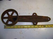12 Old Cast Iron Barn Door Rollers from Kansas Farm