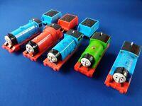 Trackmaster PERCY + JAMES + GORDON + EDWARD + THOMAS / Motorized plastic trains