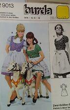 Burda 29013 Ladies Octoberfest Dress Costume German Sewing  pattern 38-42