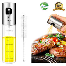 Eletorot Oil Sprayer Dispenser,Vinegar Sprayer,Dressing Spray with Brush Olive