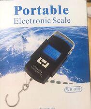 LCD Digital Escala De Gancho Electrónico Portátil Colgante escala del equipaje de peso 10g/50kg