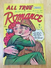 All True Romance Illustrated #2 VG/FN (5.0) 1951 Golden age romance comic CGC IT