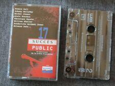 Succés Public, Hallyday Goldman souchon Gall  ect ..., K7 audio / Audio tape