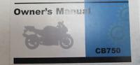 1974 HONDA CB750K4 750 Four Operators Owner Owners Manual NEW