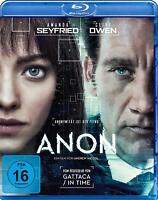 Anon (2018)[Blu-ray/NEU/OVP] Sci-Fi Thriller mit den Superstars Clive Owen, Aman