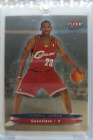 2003 03/04 FLEER ULTRA HUMMER LeBron James Rookie RC #171, VERY HOT!