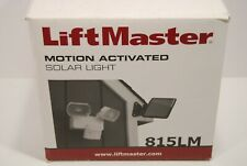 LiftMaster 815LM Motion Activated Solar Light New in Box