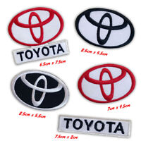 Toyota motor racing car badges Iron or Sew on Embroidered Patch