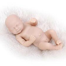 "Reborn 10"" Baby Doll Handmade Lifelike Silicone Newborn Realistic Full Body Girl"