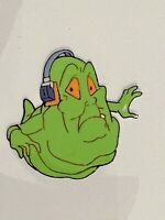The Real Ghostbusters 1986-1991 Production Animation SLIMER w Headphones Cel DIC
