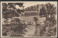 Lancashire Postcard - Waddow Hall and The Ribble, Clitheroe  A2300