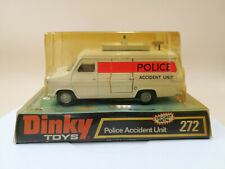 Dinky Toy 272 Police Accident Unit (ford Transit) 1976 Mint & Boxed b