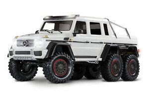 Traxxas TRX-6 1/10 6x6 Trail Crawler Truck w/Mercedes-Benz G 63 AMG White 88096