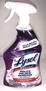 32oz Lysol Mold And Mildew Remover W Bleach-Cleans/Whitens In Seconds-SHIP N24HR