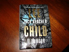 Blue Moon Lee Child Jack Reacher Mystery Crime 1st Edition Thriller Novel 2019