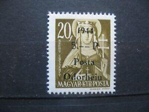 1944 Rumänien - Ungarn-Posta-Odorheiu 20/5