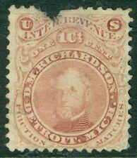 USA : 1864. Scott #RO154a Fault at top. Catalog $175.00.