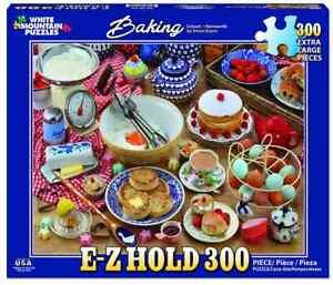 White Mountain 300 Extra Large Piece Jigsaw Puzzle - Baking