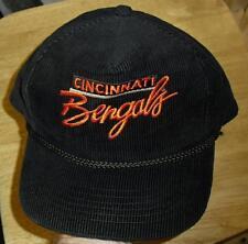 Cincinnati Bengals Vintage 90's New Era Snapback hat Original Corduroy RARE!!