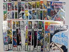 DEATHLOK Comic Set 1-34 + Annual 1 2 ~ NEAR MINT ~ 1991 MARVEL Comics SHIELD TV