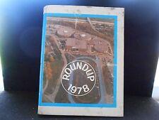 1978 Roundup Chartiers Valley High School Bridgeville  Pa. Yearbook