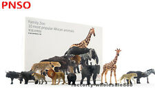 PNSO 10pc most popular African animals Family Zoo limited model education museum