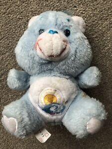 "Vintage 1983 Uk Exclusive Rare Small Sea Friend Care Bear 6"""