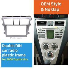 Car Stereo Radio Frame Dash Panel Trim kit for TOYOTA Vios, Belta, Yaris Sedan