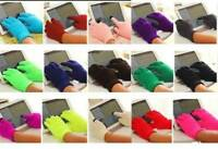 TOUCH SCREEN WINTER KNITTED GLOVES LADIES MENS KIDS FOR CELL PHONE TABLET MAGIC
