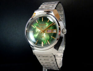 Working Orient Chrono Ace 1970s Vintage Automatic Winding Mens Watch uhr reloj