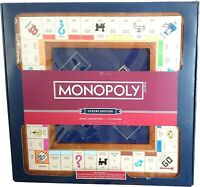 BRAND NEW Monopoly Luxury Edition Wood Box Classic Collectible Board Game NIB