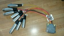 Antex Sound Card XLR Breakout Cable Balanced Audio IN/OUT SC2000 StudioCard SC22