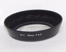 Genuine Minolta 55mm Lens Hood screw on type for MC 28mm F3.5 vintage