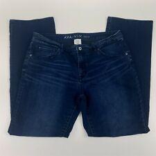 Ava & Viv Jeans Size 14W Plus Boot Cut Mid Rise Womens