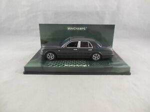 Minichamps 436 139071 2003 Bentley Arnage T in Metallic Grey 1:43 Scale