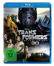 3D + 2D  Blu-ray * TRANSFORMERS 5 - THE LAST KNIGHT | MARK WAHLBERG  # NEU OVP +