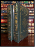 Morgoth's Ring & War Of Jewels by J.R.R. Tolkien New Sealed Easton Press Leather