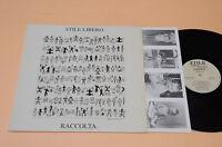 LP STILE LIBERO COMPIL MUSICA SPERIMENTALE ITALIANA 1°ST ORIG 1988 AUDIOFILI EX