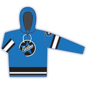 Easton Retro  1 Senior Hockey Hoodie  Royal Blue  Size L   MSRP $69.99